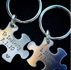 2014 Anniversary Key Chain
